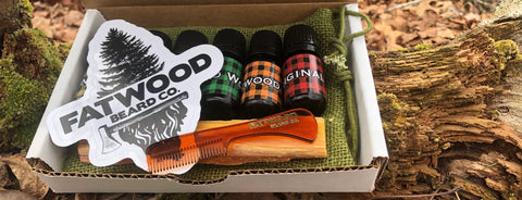 All Natural Beard Oil Sample Packs