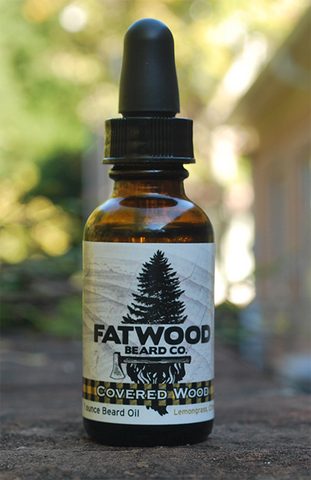 Covered Wood Beard Oil