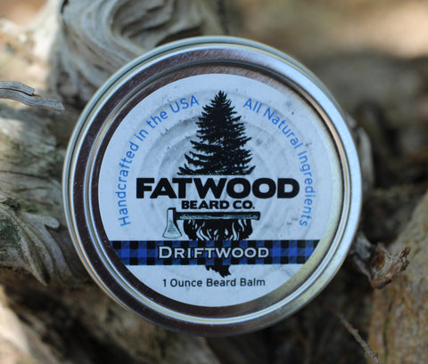 Driftwood Beard Balm 1 Ounce Tin