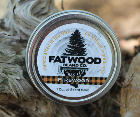 Firewood Beard Balm 1 Ounce Tin