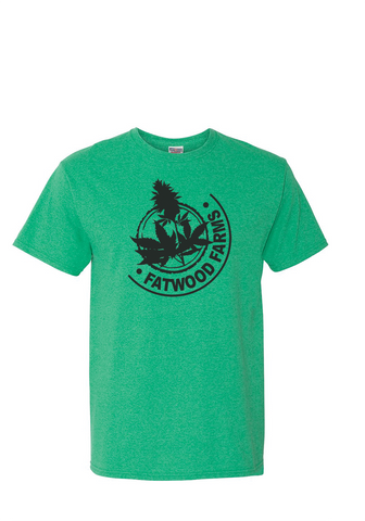 Green Fatwood Farms Logo T-Shirt