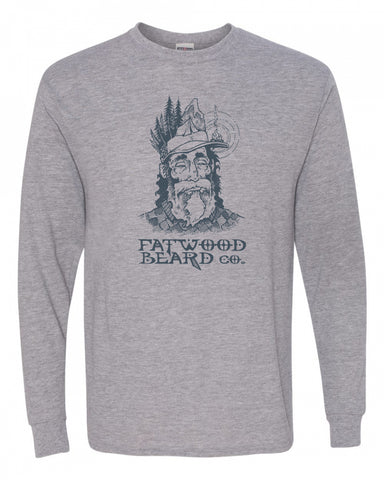 Long Sleeve Fatwood Beard Co. Headlamp Shirt