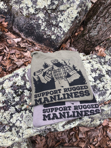 Next Level Support Rugged Manliness T-Shirt