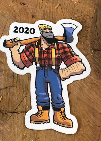 Fatwood Fred 2020 Sticker