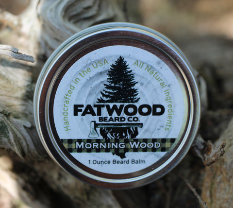 Morning Wood Beard Balm 1 Ounce Tin