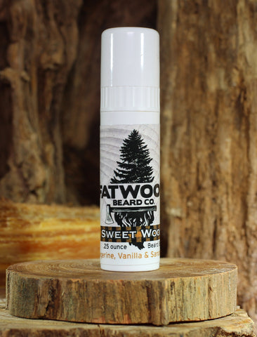 Sweet Wood On-the-Go Beard Balm 3 Pack