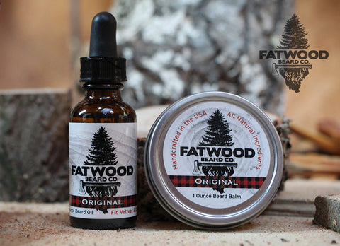 Beard Oil & Balm Combo/Free T-Shirt