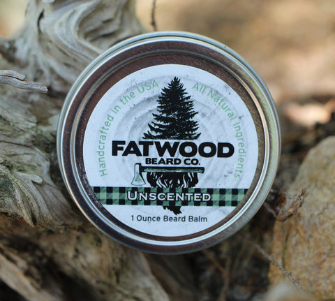 Unscented Beard Balm 1 Ounce Tin