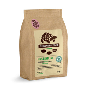 Tortoise Tom 100% Brazilian Ground Coffee 250g