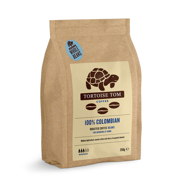 Tortoise Tom Colombian Coffee Beans 250g