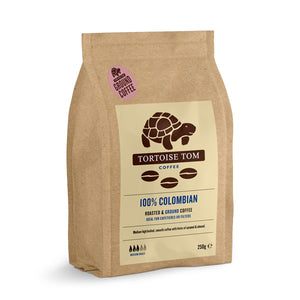 Tortoise Tom Colombian Ground Coffee 250g