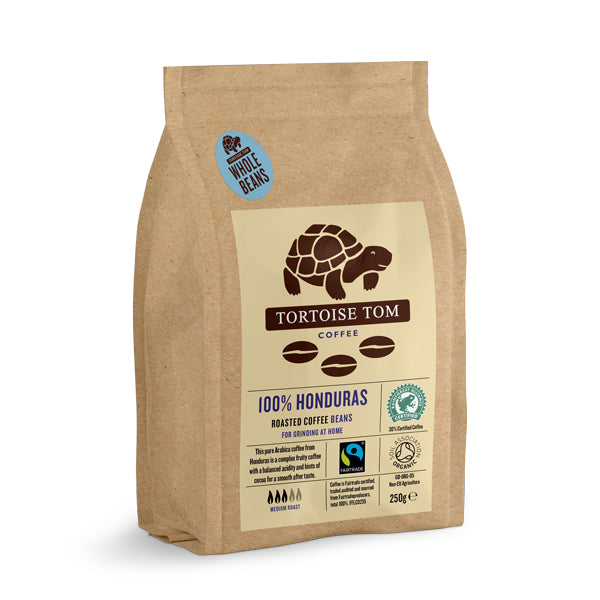 Tortoise Tom Honduras Coffee Beans 250g