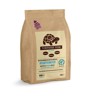 Tortoise Tom Decaf Mexican Water Process Ground Coffee 250g