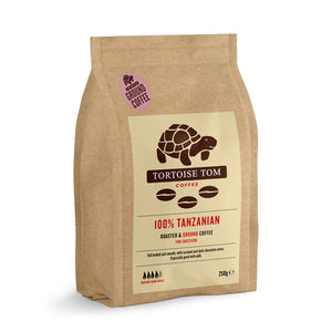 Tortoise Tom Tanzanian Ground Coffee 250g