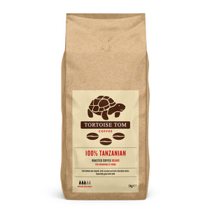 Tortoise Tom Tanzanian Whole Bean Coffee 1kg
