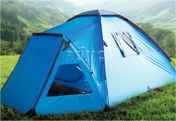 TENDA TECNICA 3 POSTI, BLU PER CAMPEGGIO E OUTDOOR - AccessoriCaravan.it