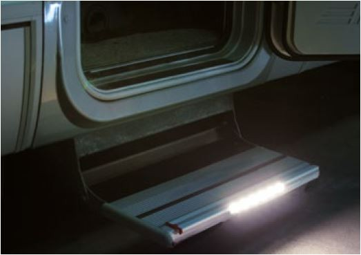 FIAMMA LED STEP: SISTEMA DI ILLUMINAZIONE LED PER GRADINI - AccessoriCaravan.it