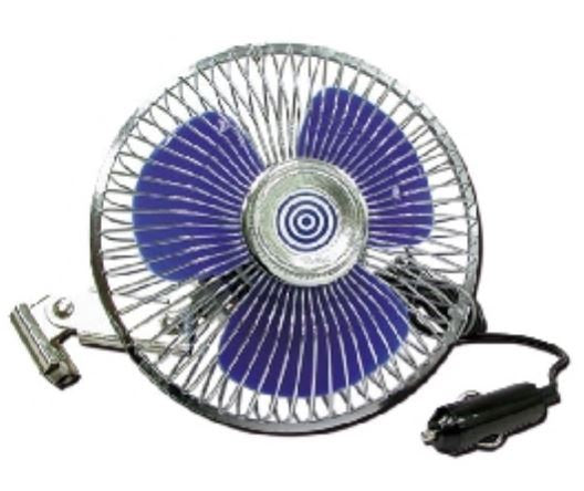 VENTILATORE 12V OSCILLANTE IN METALLO - AccessoriCaravan.it