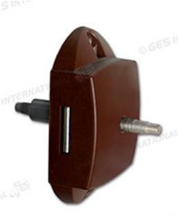 SERRATURA PUSH LOCK BILATERALE CON FORI PER ASTE PORTE E ANTE INTERNE - AccessoriCaravan.it