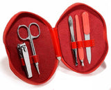 SET MANICURE MOTIVO LABBRA E ZIP IN PVC - accessoricaravan