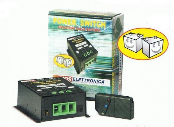 NDS: PS 12-60 DEVIATORE POWER SWITCH PER CAMPER NDS ELETTRONICA - AccessoriCaravan.it