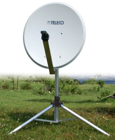 KIT CARRY SAT ALU 65-80 ANTENNA SATELLITARE PROTATILE. DI TELECO - accessoricaravan