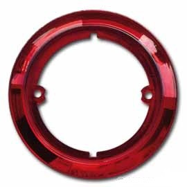 ANELLO DECORATIVO PER FANALI TONDI COLORE ROSSO - AccessoriCaravan.it