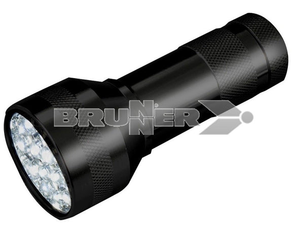 TORCE LED LUCE BIANCA CORPO ALLUMINIO MOD. NYTRO. DI BRUNNER - AccessoriCaravan.it