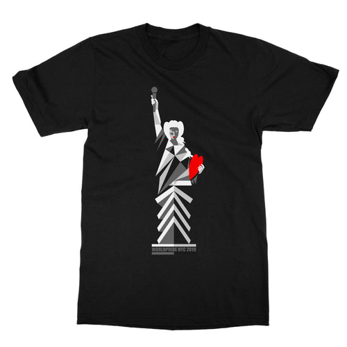 Lady Liberty T-shirt | Black