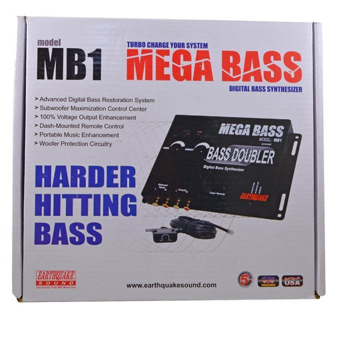 Earthquake Sound MB1 MEGA Bass Digital Bass Synthesizer for Car Audio (3839728386112)