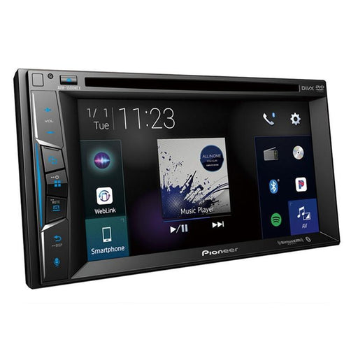"Pioneer AVH-1500NEX 2-DIN Touchscreen Multimedia DVD Receiver with 6.2"" Display"