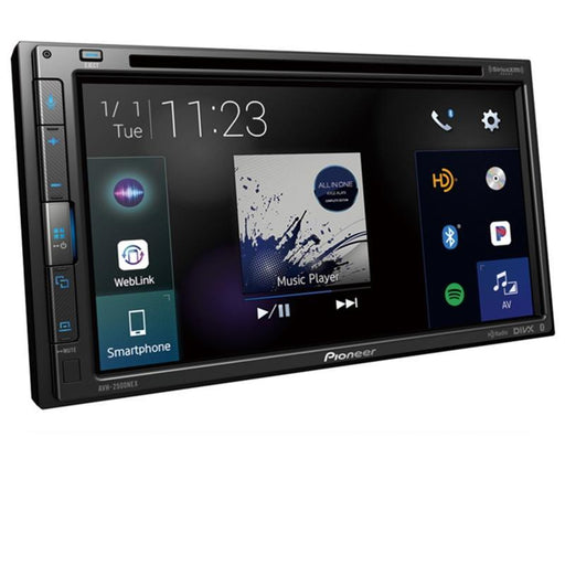 "Pioneer AVH-2500NEX 2-DIN Touchscreen Multimedia DVD Receiver with 6.8"" Display"