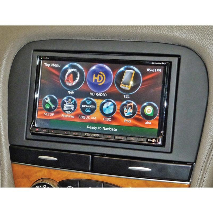 Metra 95-8729B Double DIN Dash Kit for select Mercedes SL Class 2003-2008 (3839816040512)