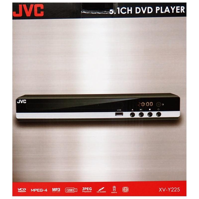 JVC XV-Y225 All Region Code Free DVD Player 5.1 Channel Plays PAL NTSC (3839816761408)