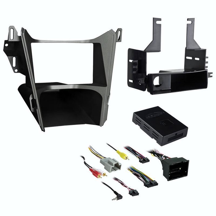 Metra 99-3308G 1 or 2 DIN Dash Kit for Chevy Equinox / GMC Terrain 2013-2017 (3839826395200)