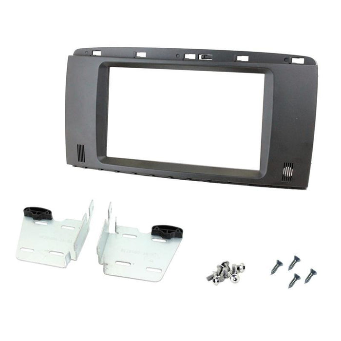 Metra 95-8728B Double DIN Dash Kit for select Mercedes R Class 2009-2011 (4169143484480)