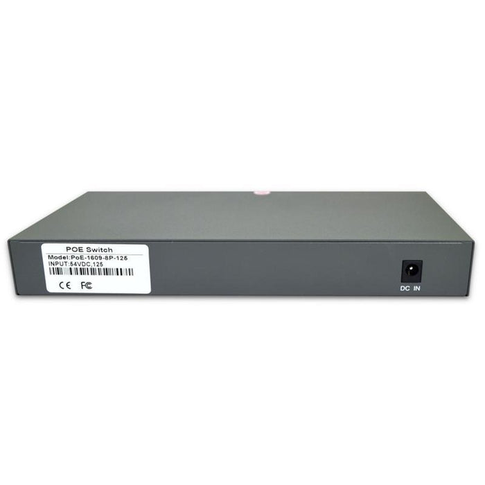 8 Port Unmanaged Gigabit Ethernet PoE Switch and Uplink Port, 10/100/1000Mbps (4169144893504)