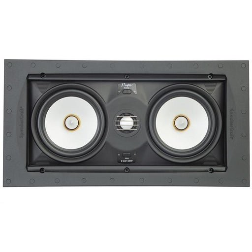 SpeakerCraft ASM54633-2 Profile Aim LCR5 Three In-wall Speaker w/ Aimable Woofer