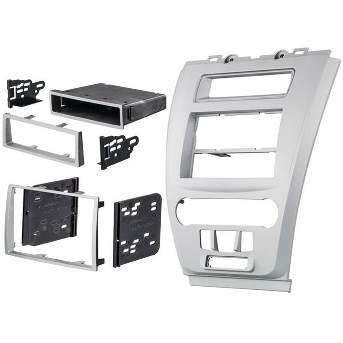 Metra 99-5821S Single or Double DIN Dash Kit for Ford Fusion 2010-2012 - Silver (4169146466368)