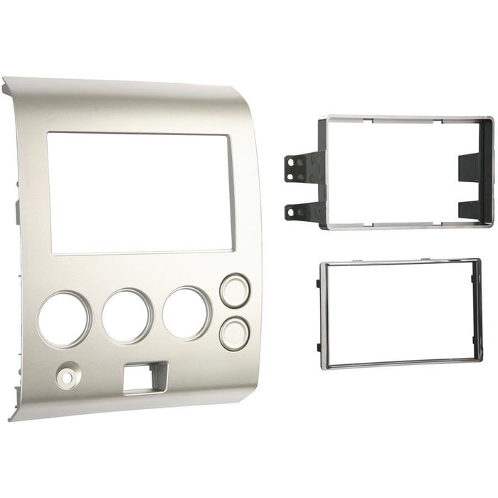 Metra 95-7406 Double DIN Stereo Dash Kit for Select 2004-2007 Nissan (3838826381376)