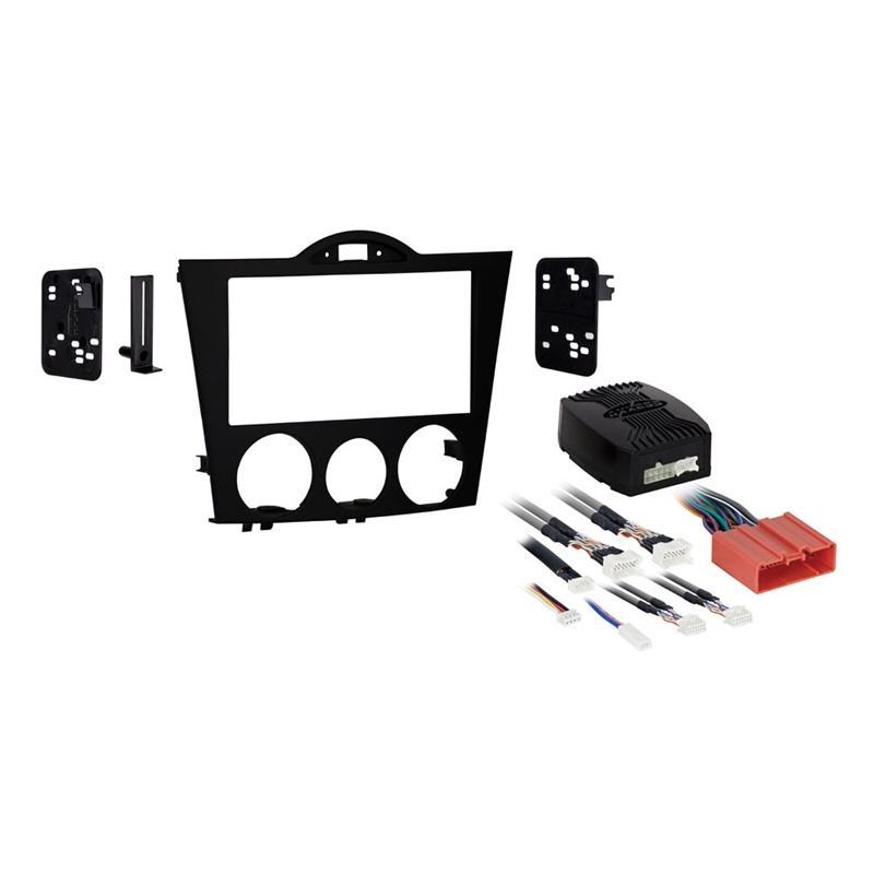 Metra 95-7510 Black Double DIN Stereo Dash Kit for 2004-08 Mazda RX-8 (3838827987008)