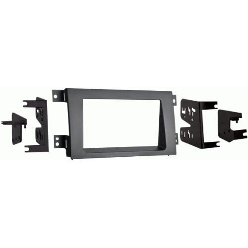 Metra 95-7870G Gray Double DIN Dash Kit for 2005-2008 Honda Ridgeline (3838829166656)