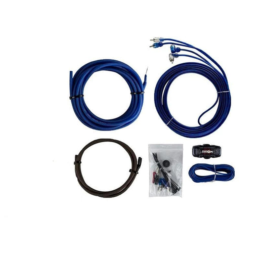 The Install Bay AK8 1000W 8 Gauge Amplifier Install Kit w/ RCA Cable (3838915313728)