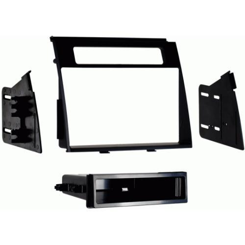 Metra 99-7349B Black Single DIN Stereo Dash Kit for 2012-up Kia Soul (3838948048960)