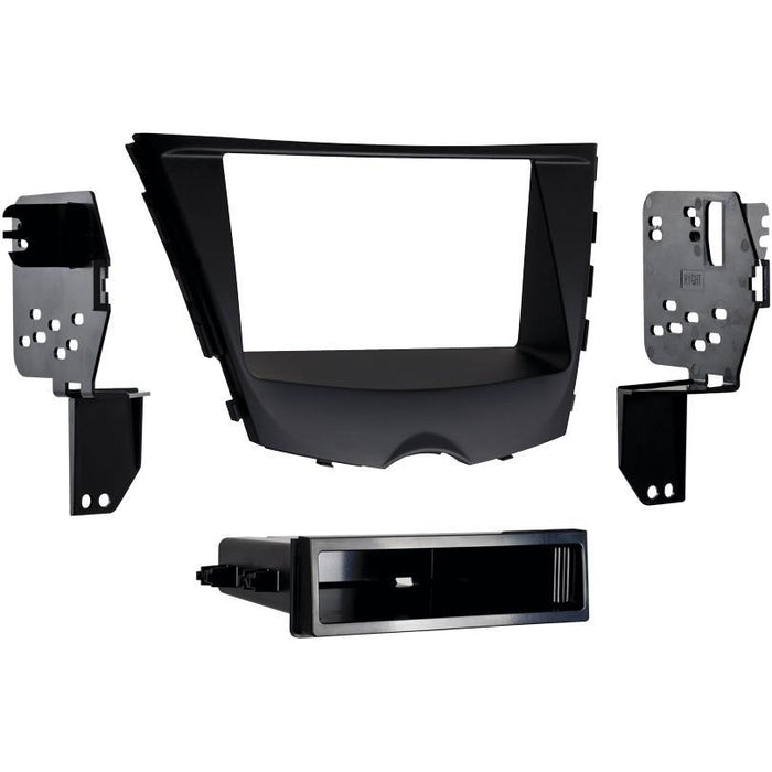 Metra 99-7350B Single DIN Stereo Dash Kit for 2012-up Hyundai Veloster