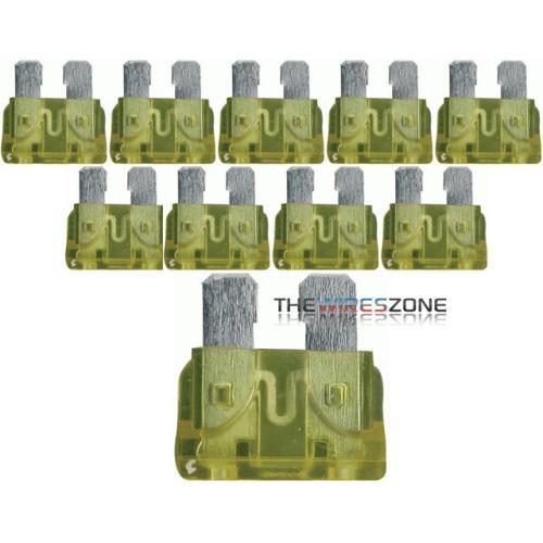 ATC20 Automotive 20 Amp ATC Fuse (10/pack) (3838951391296)