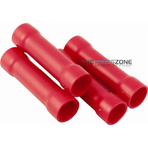 BC-108 High Quality Red 8 Gauge Butt Connector (100/pack) (3838958010432)