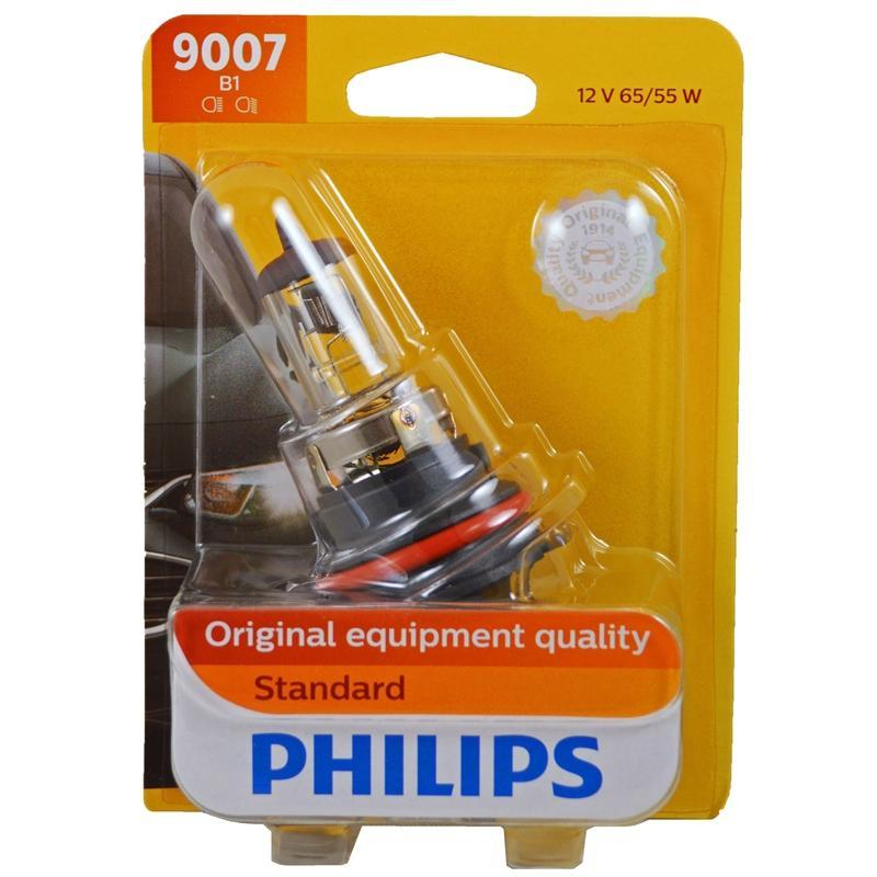 Philips Standard 9007 HB5 12 Volts 65/55 Watts Halogen Headlight Bulb (3838958895168)