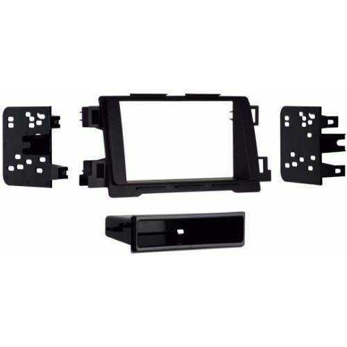 Metra 99-7522B Single DIN Dash Kit with Pocket for 2012-up Mazda CX-5 (3838974001216)