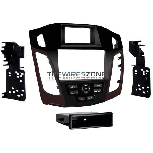 Metra 99-5827R Single/Double DIN Dash Kit w/ Red Vent for Ford Focus (3838974427200)